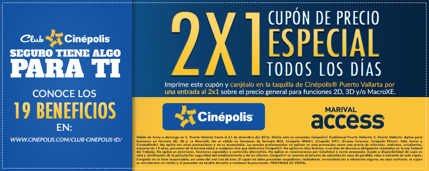 Boletos cinepolis